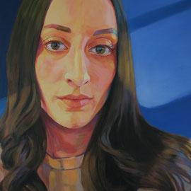 Kate. Acrylic on canvas. 60 x 70cm