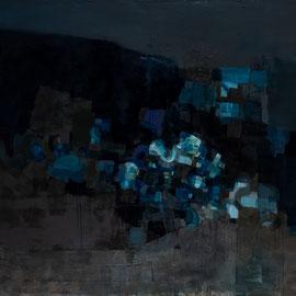 Mapa. 195 cm X 145 cm, huile sur toile. 2019