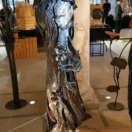 Nadine Ledru - Les créateurs à l'Abbaye - Gruchet le Valasse - Sculpture en métal