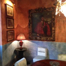 Decorazione ex novo di pareti.