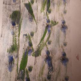 Unsichtbare Welt II: DIN A4 Acryl auf Papier