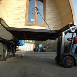 Mobile-home Pod, une structure facilement ammovible
