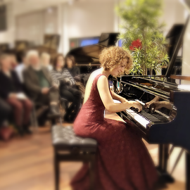 Georgian pianist Sharumashvili