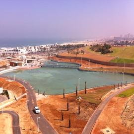 Le nouveau parc juste en bas de l'immeuble