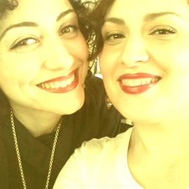 Io e Francesca Bighin