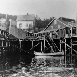 The Jøvik herring oil & concentrates factory in 1936, the second biggest herring factory in Norway in the 1970s.