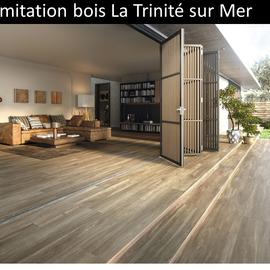 Carrelage imitation bois La Trinité sur Mer pas cher