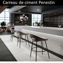 Carreau de ciment géométrique Pénestin pas cher