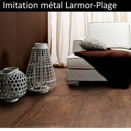 Carrelage imitation métal Larmor-Plage pas cher