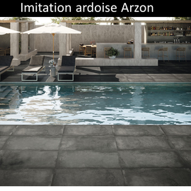 Carrelage imitation ardoise Arzon