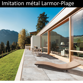 Carrelage imitation métal Larmor-Plage