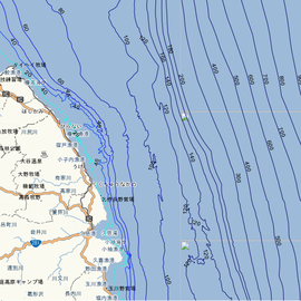 福丸が釣行する海域