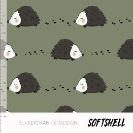 Hedgehog - green