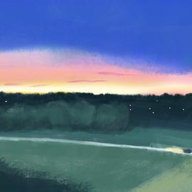 夕焼けドライブ Sunset drive