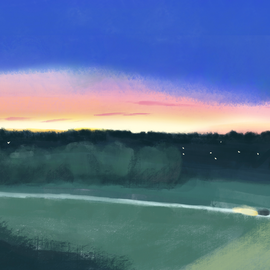 夕焼けドライブ|Sunset drive