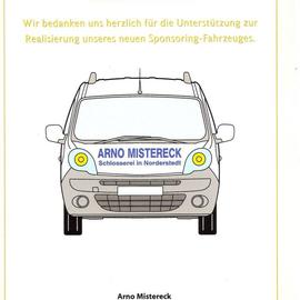 AM Sponsoring Bildungswerke Norderstedt 2013 Dank Urkunde für Sponsoring
