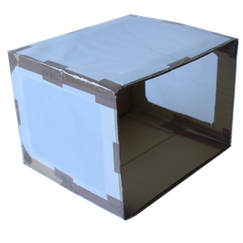 Pega hojas de papel pergamino o papel mantequilla