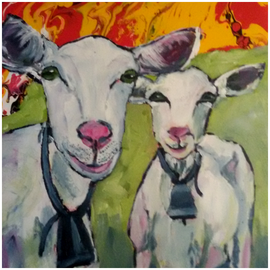 Schafe 80 x 80