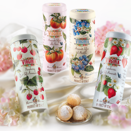 SOFT AMARETTI ASSORTED FRUITS IN TIN