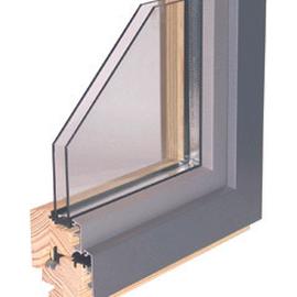 Holz Alu Fenster Aussenseite