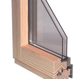 Holz Alu Fenster Innenseite