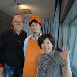 谷五郎さん、中野涼子さん