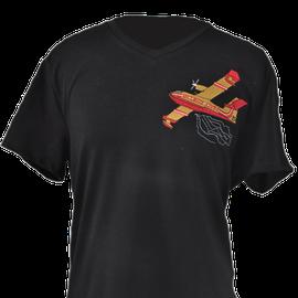 tee shirt brodé canadair