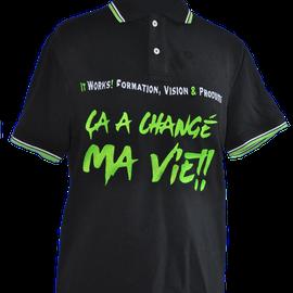 tee shirt brodé logo entreprise