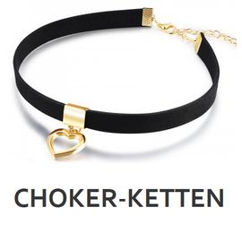 Chokerkette jetzt bei My Bijouterie online kaufen. Flanell Chokerketten mit Anhänger-Motiven jetzt im Sale. Greifen Sie zu!