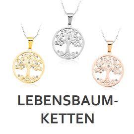 Lebensbaum Halskette / Tree of Life Halskette online bei My Bijouterie kaufen.