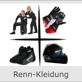 Rennkleidung Rennanzug Helm Rennanzug