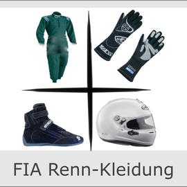 FIA Rennkleidung Rennanzug Helm Rennanzug