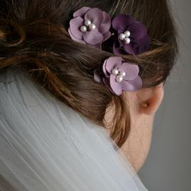 Haarspangen für die Hochzeit