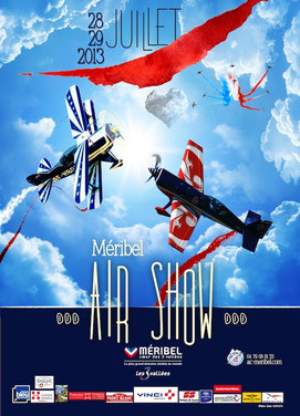 Meribel Airshow 2013 Station de ski 3 vallée MERIBEL AIR SHOW 2013 photos videos