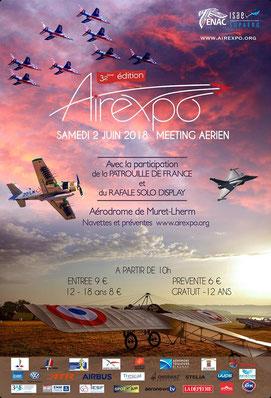Airexpo - Muret-Lherm 2018 , ENAC Supaero , meeting aerien 2018