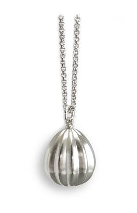 Silberkapsel Kettenanhänger Amulett