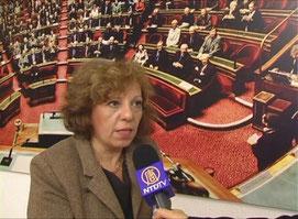 Marie-Françoise Lamperti présidente de l'association