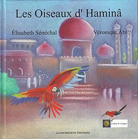 les oiseaux d'Haminâ, couverture livre jeunesse véronique abt