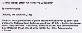 Graffiti World review - New Jersey Star Ledger