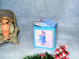 Weihnachtswürfelboxen
