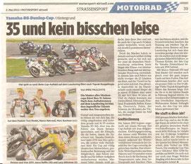 MSA, Motorsport aktuell, Yamaha R6 Cup, 35 Jahre, Jubiläum
