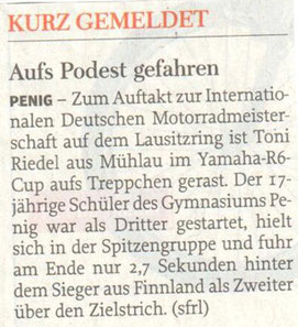Freie Presse Rochlitz 24.04.13