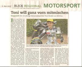 BLICK, 2. Platz, Fotograf, Artikel, Toni Riedel, 2. Sieger