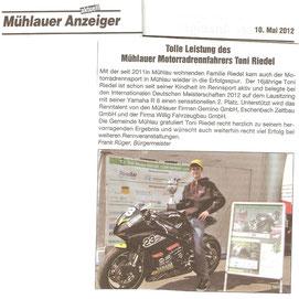 Mühlauer Anzeiger, Gemeinde Mühlau,