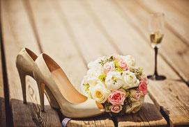 romatisches Hochzeitsbild, Hochzeitsshooting Görlitz 2016