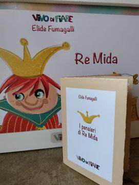 libro con kamishibai re Mida e libro origami