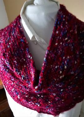 Handgebreide sjaal