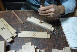 幕板の木象嵌