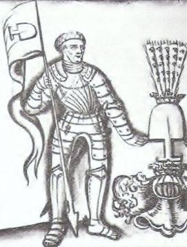 WOLFGANG VON GRABEN (1465-1521), BURGGRAF AUF SALDENHOFEN, HERR VON GRABEN, ENZ