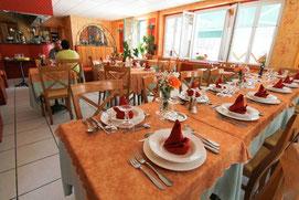 Le restaurant de l'hôtel du Midi
